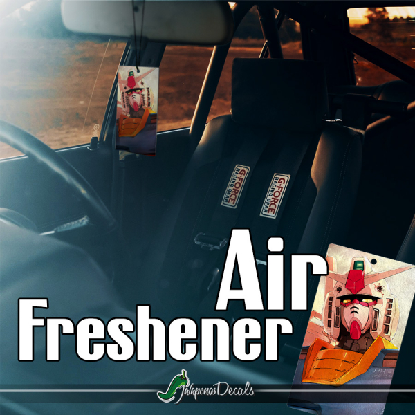 RX-78-2 Amuro Ray Earth Federation EFSF EFF Principality of Zeon Anime Manga Printed Car Air Freshener>