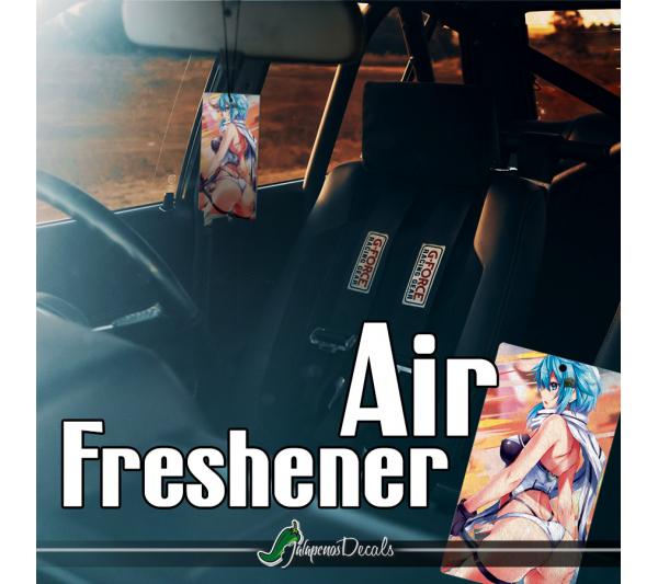Sinon Asada Shino Sniper Rifle Hecate 2 SAO ALfheim Sexy Hot Anime Girl Senpai Boobs Printed Car Air Freshener>