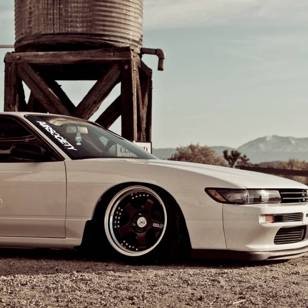 Airsociety v3 Banner Static Lowered Stance Low Slammed Power Meeting Grounds  JDM Racing Turbo Car Vinyl Sticker Decal