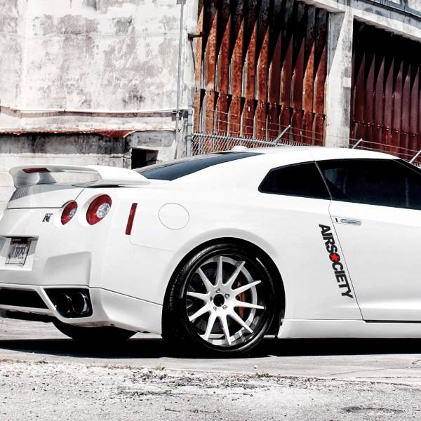 Airsociety v2 Banner Static Lowered Stance Low Slammed Power Meeting Grounds  JDM Racing Turbo Car Vinyl Sticker Decal