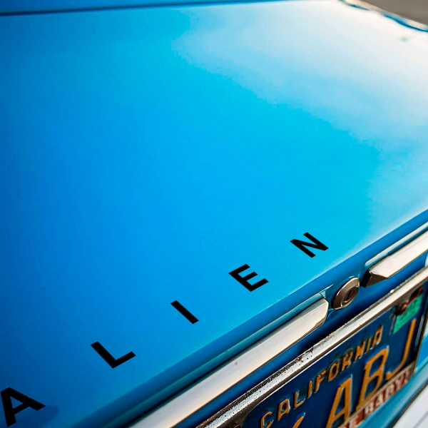 2x Pair   v2 Xenomorph Nostromo Ripley Mother Movie  Car Vinyl Sticker Decal#Alien#Predator