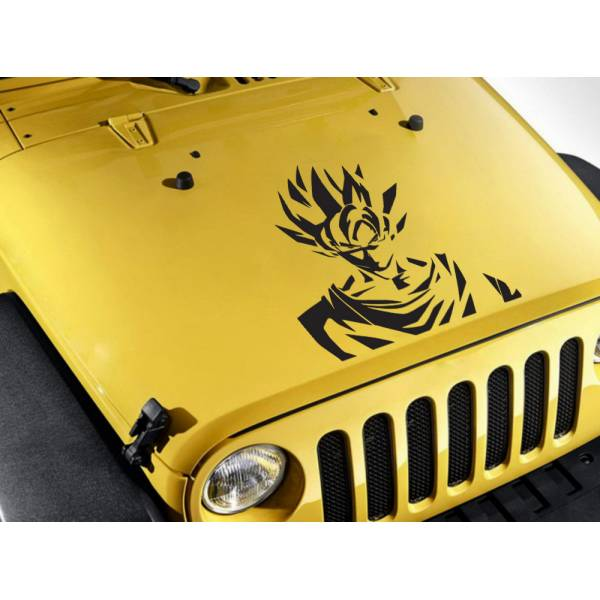 Dragon Saiyan Hood Goku Hero Super Anime Manga Car Vinyl Sticker Decal>