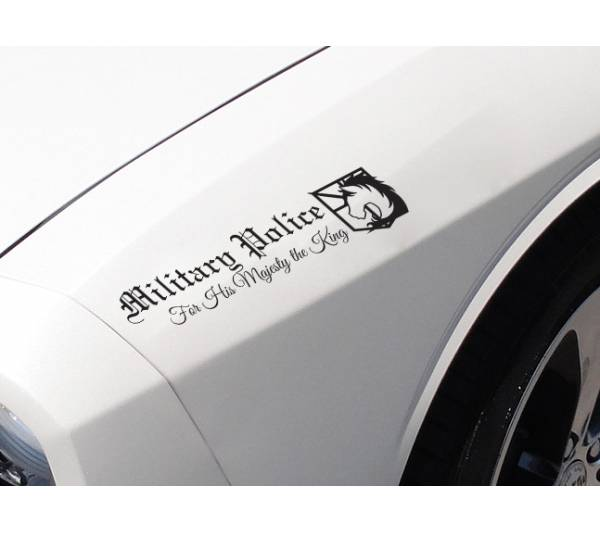 Attack On Titan Military Police Corp Logo Unicorn Shingeki no Kyojin Colossus Anime Manga Body Windshield Sticker Decal
