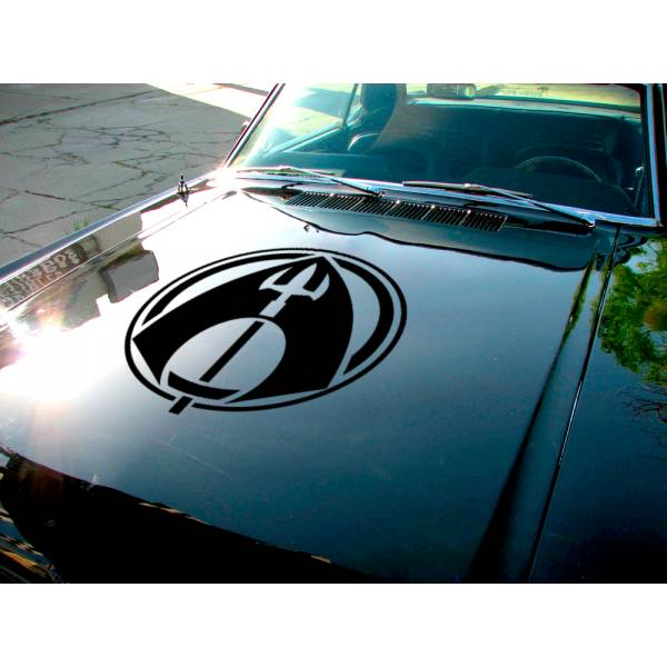 Aquaman Hood Logo Justice League Movie Superhero DC Comic Car Hood Vinyl Sticker Decal