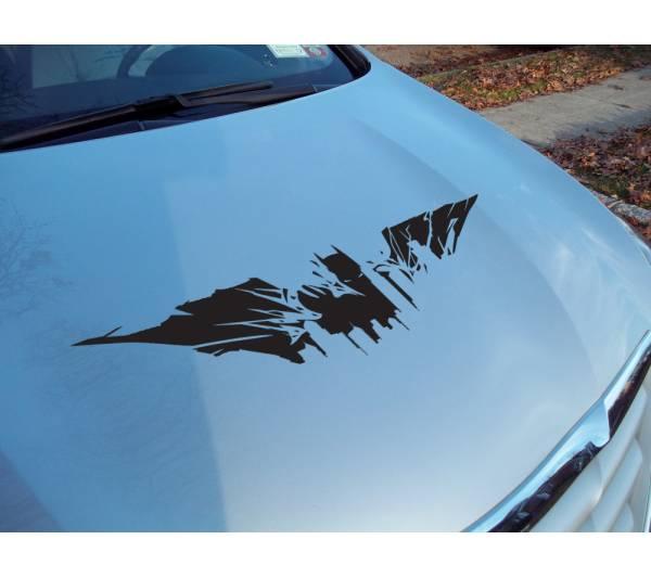 Buy Dark Batman Gotham City Shadow Superhero Decal Car Truck Hood - Custom vinyl decals for car hoods