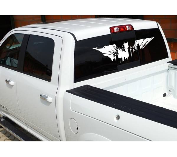 Dark Batman Gotham City Shadow Superhero Decal Car Truck Hood Vinyl Sticker