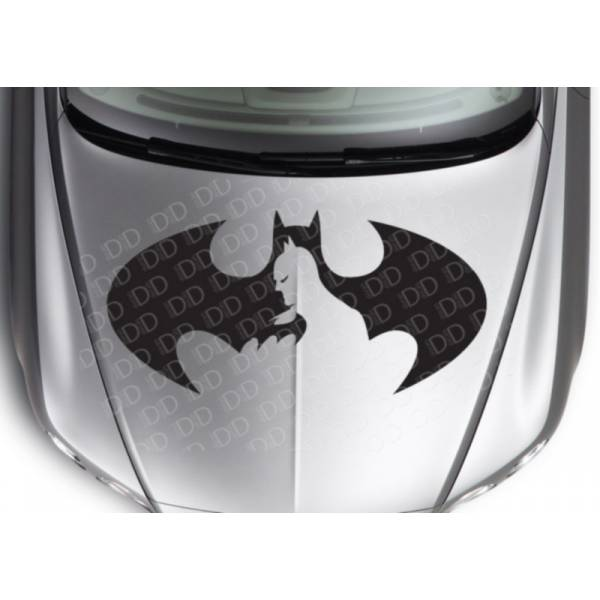 Large Batman Cutted Logo Superhero Dark Comic Car Hood Body Vinyl Sticker Decal