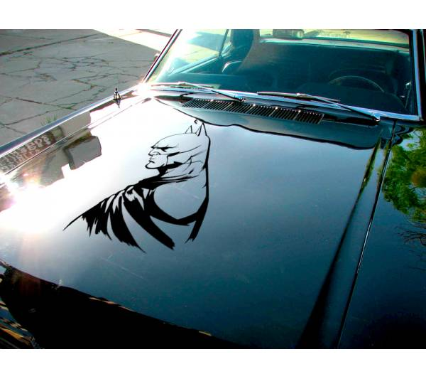 Batman Logo Detective v2 Bruce Wayne Justice League Dark Knight Gotham Superhero DC Decal Car Truck Hood Vinyl Sticker