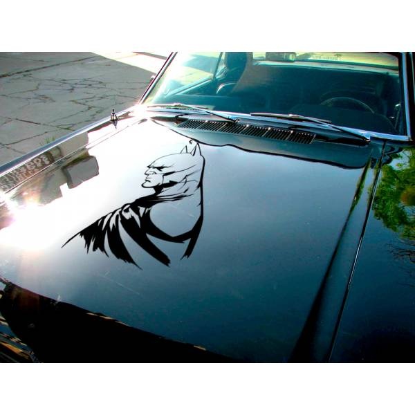 Bruce Wayne Detective v2 Enterprises Justice Dark Knight Gotham Superhero Decal Car Truck Hood Vinyl Sticker>