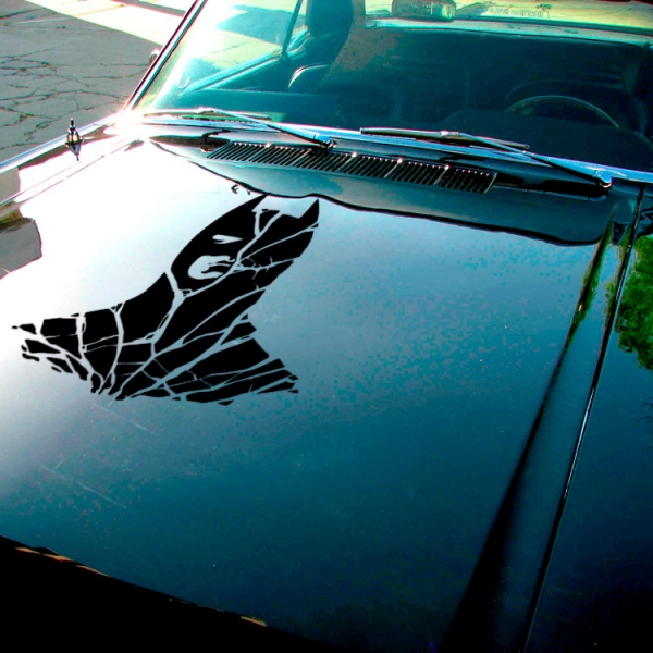 Bruce Wayne Detective v1 Enterprises Justice Dark Knight Gotham Superhero Decal Car Truck Hood Vinyl Sticker>