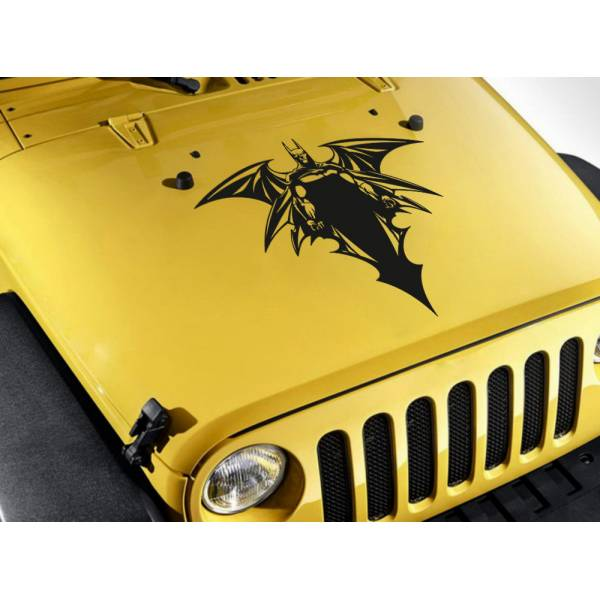 Dark Knight Sharp Bruce Wayne Wings Gotham Shadow Comic Superhero Car Vinyl Sticker Decal>