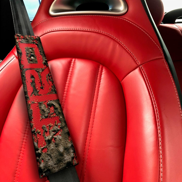 Racing Development v1 TRD GT-86 Corolla Supra Sprinter Celica FR-S JDM Eco Leather Printed Car Seat Belt Cover>
