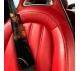 Wonder Woman Lasso v1 Diana Prince Gold Logo DC Comics Movie Eco Leather Printed Car Seat Belt Cover