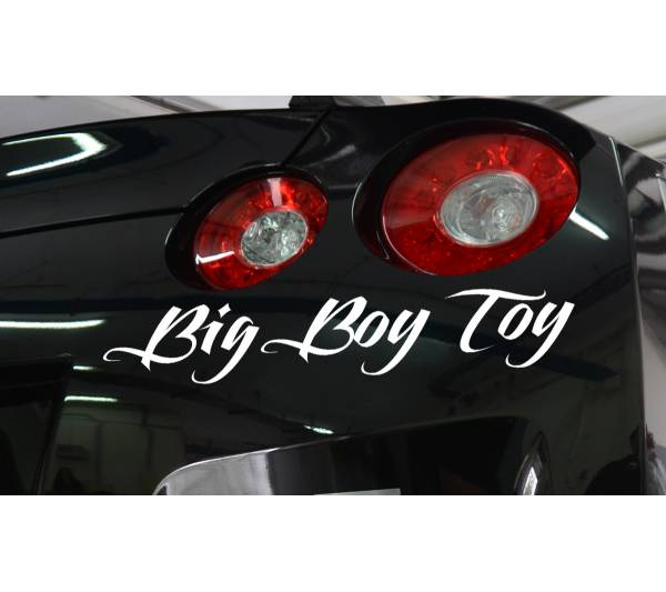 Big Boy Toy Fun JDM Stance Japan Performance Car Windshield Vinyl Sticker Decal