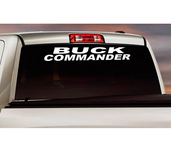Buck Commander Logo Windshield Banner Strip Deer Bow Arrow Hunter Hunting Life Truck Vinyl Sticker Decal
