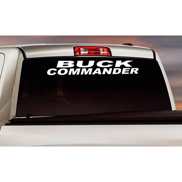 Buck Commander Logo Windshield Banner Strip Deer Bow Arrow Hunter Hunting Life Truck Vinyl Sticker Decal