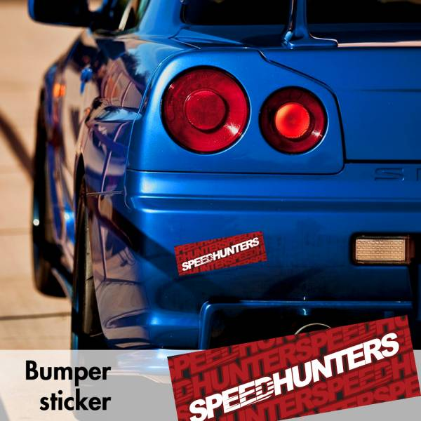 Speedhunters v3 Bumper Printed Sticker Box Slap Window JDM Stance Event Show Low Car Vinyl Decal