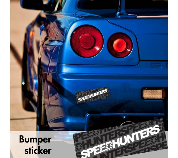 Speedhunters v1 Bumper Printed Sticker Box Slap Window JDM Stance Event Show Low Car Vinyl Decal