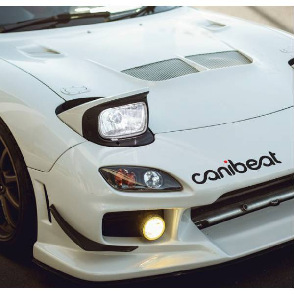 Canibeat v2 Hoonigan Hellaflush Stance Royal Event Banner Strip JDM Low Vinyl Decal