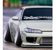 Windshield Banner Nissan 日産 350z 370z GTR Skyline Silvia S14 S15 R32 R33 R34 C10 C110 Fairlady Japan Rising Sun Katakana Racing Car Vinyl Sticker Decal
