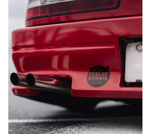 Fueled by Hate v2 Fill er Up Devil Circuit Soul  Hard Style Iron Mind Racing Japan Made JDM Sticker Decal