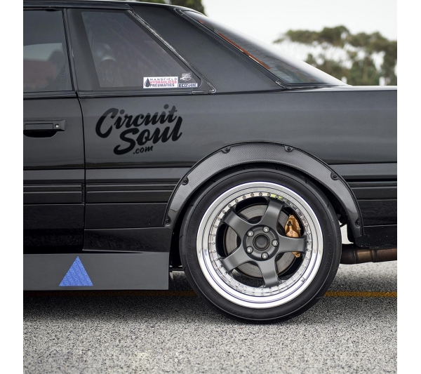 Circuit Soul v1 CS Hard Style Iron Mind Tuning Racing Japan Made Rising Sun JDM Sticker Decal>