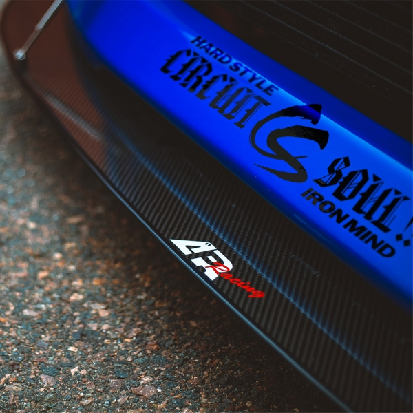 Circuit Soul v5 CS Victory Glove Logo Hard Style Iron Mind Tuning Racing Japan Made Rising Sun JDM Sticker Decal