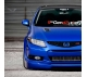 Civic 9 9th Gen Generation Society Sport Si SiR VTi FB EX MK Type R VTEC I-VTEC DOHC Mugen Hatchback Hatch JDM Car Vinyl Sticker Decal>