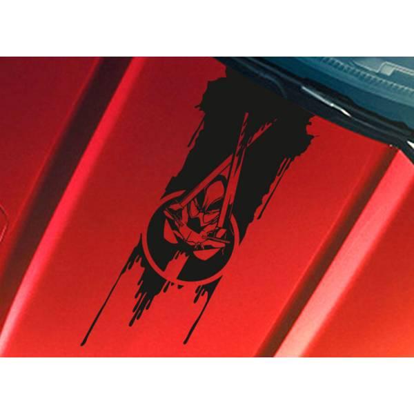 Deadpool Hood Blood Hooligan Wilson Superhero Comics Car Vinyl Sticker Decal
