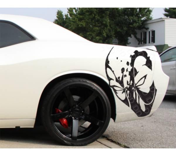 Deadpool Hood Logo Bad Hooligan Wilson Superhero Comics Car Vinyl Sticker Decal