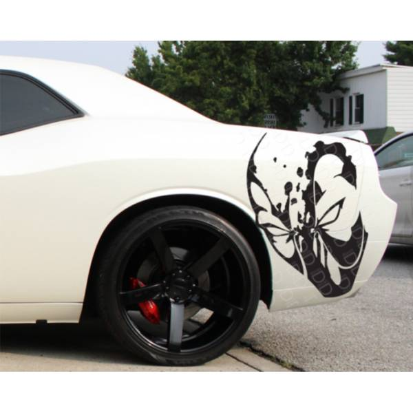 2x Wade Wilson Side Blood Hooligan Superhero Comic Car Vinyl Sticker Decal>