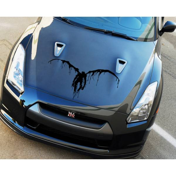 Death Note Hood Shinigami Ryuk v1 Light Yagami Anime Manga Body Windshield Sticker Decal
