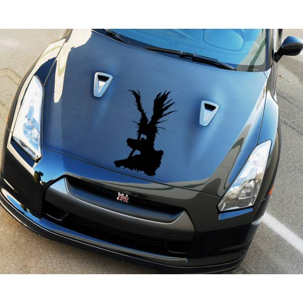 Death Note Hood Shinigami Ryuk v4 Light Yagami Anime Manga Body Windshield Sticker Decal
