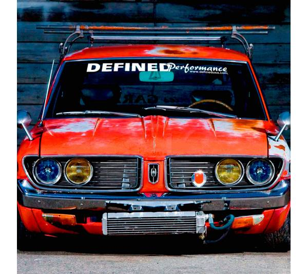 Defined Performance Banner v2 Show Stance Low Slammed  JDM Racing Turbo Car Vinyl Sticker Decal