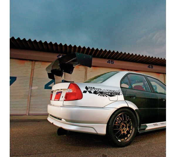 2x Pair Side Mitsubishi v9 VI 6 Logo Lancer Evo 三菱 自動車  JDM Japan Made Rising Sun Evolution GT-A RS GSR MR MIVEC DOHC Car Vinyl Sticker Decal
