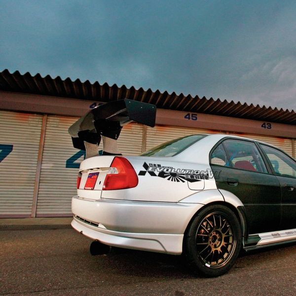2x Pair Side Mitsubishi v9 VI 6 Logo Lancer Evo 三菱 自動車  JDM Japan Made Rising Sun Evolution GT-A RS GSR MR MIVEC DOHC Car Vinyl Sticker Decal