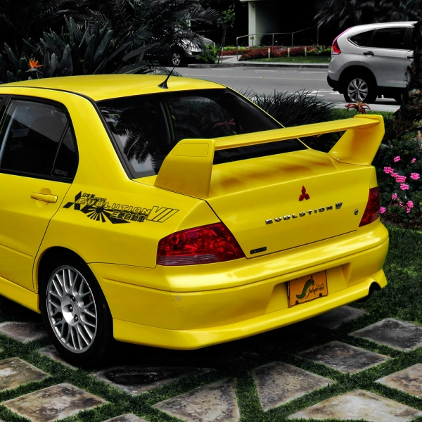 2x Pair Side Mitsubishi v7 VII 7 Logo Lancer Evo 三菱 自動車 JDM Japan Made Rising Sun Evolution GT-A RS GSR MR MIVEC DOHC Car Vinyl Sticker Decal