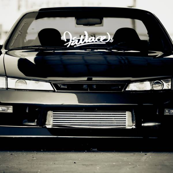 Fatlace v3 Event Stance Low Hellaflash Royal Banner Culture Dope JDM Sticker Decal