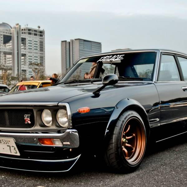 Fatlace v5 Event Stance Low Hellaflash Royal Banner Culture Dope JDM Sticker Decal>