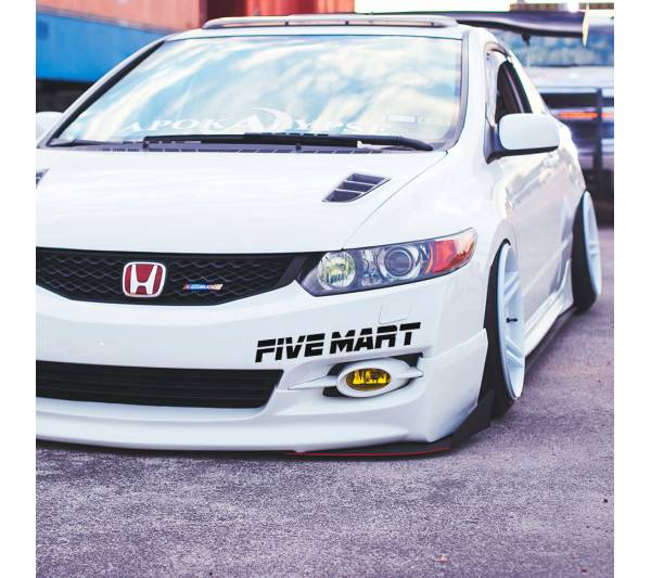 Five Mart v2 Windshiled Banner Stripe Oskaka Kanjo  JDM Auto Stance Tuning Rising Sun Japan Car Vinyl Sticker Decal