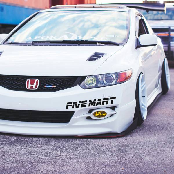 Five Mart v2 Windshiled Banner Stripe Oskaka Kanjo JDM Auto Stance Tuning Rising Sun Japan Car Vinyl Sticker Decal >