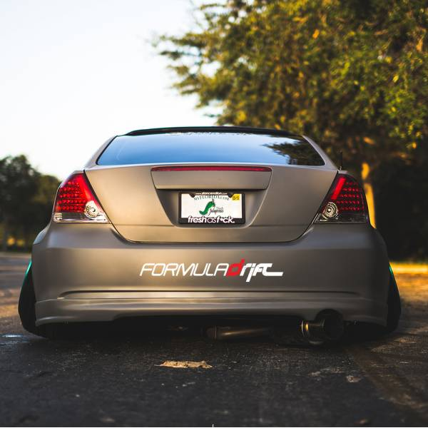 Formula Drift Logo Banner Lowered Stance Low Slammed  JDM Racing Turbo Car Vinyl Sticker Decal