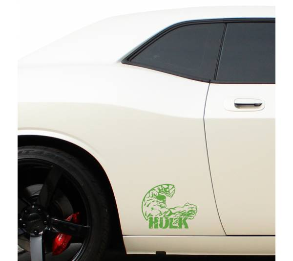Hulk Superhero Avengers Comics Car Window Body Laptop Vinyl Sticker Decal