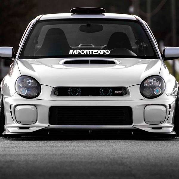 ImportExpo Import Expo Show Meet Racing JDM Event Stance Banner Strip Low Vinyl Decal >