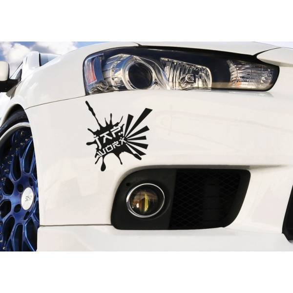 Japan Splash Rising Sun JDM Japanese Performance Window Body Vinyl Sticker Decal