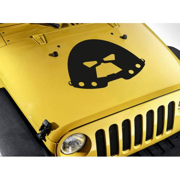 Hood Juggernaut Power Mutant Villain Cain Marko Comics Superhero Car Vinyl Sticker Decal>