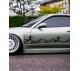 2x Pair Great Wave Kanagawa JDM Stance Low Made Japan Stance Tuning Build Rising Sun Katakana Racing Car Vinyl Sticker Decal>
