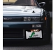 Bleach v2 Ichigo Shinigami Anime Manga Printed Aluminum Composite Car License Plate Frame>