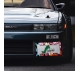 Darling in the Franxx Zero Two Code 002 Sexy Girl Anime Manga Printed Aluminum Composite Car License Plate Frame>