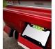 Cartoon Morty V3 Wubalubadubdub Rick Printed Aluminum Composite Car License Plate Frame>